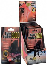 Black Stallion 5000 - Stamina Confidence Pleasure Pill (140962.300)